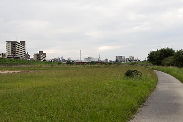 川辺矢田川川原
