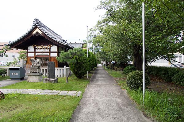 六番神明社北参道