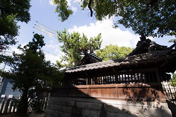 戸田神明社本殿
