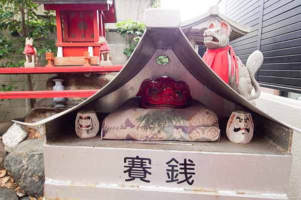 柳島神社獅子頭