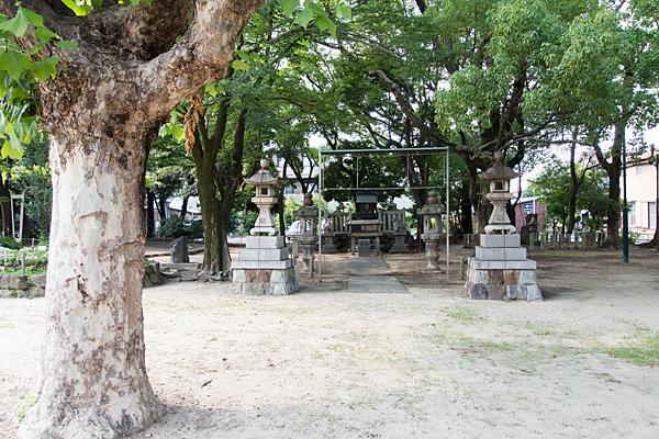 日之宮神社近景
