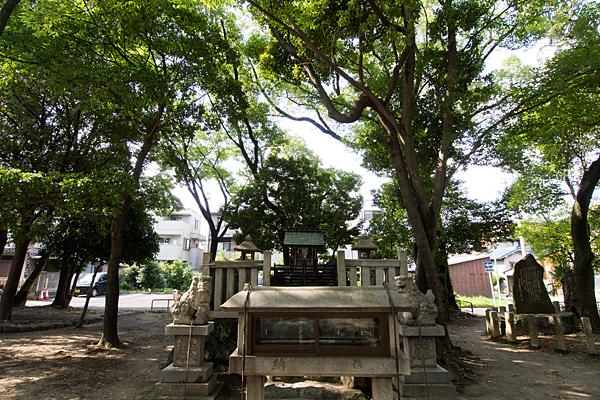 日之宮神社全景