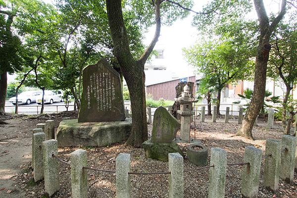 日之宮神社石碑