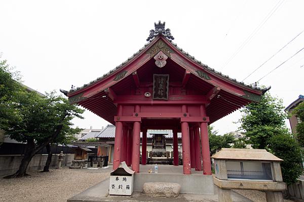 中郷津島社拝殿