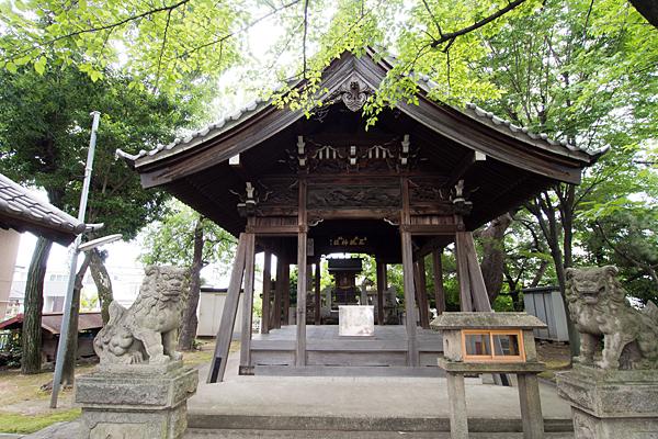 野田三狐神社拝殿