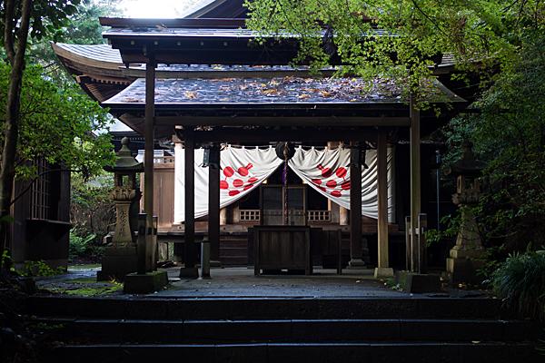 内々神社横の妙見寺