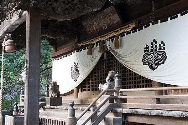 内々神社拝殿