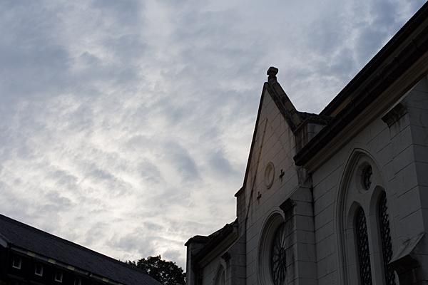 明治村ザビエル大聖堂夕暮れどき