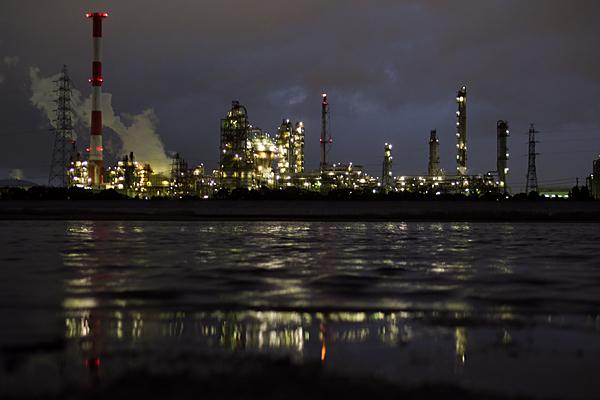 塩浜工場夜景ローアングル