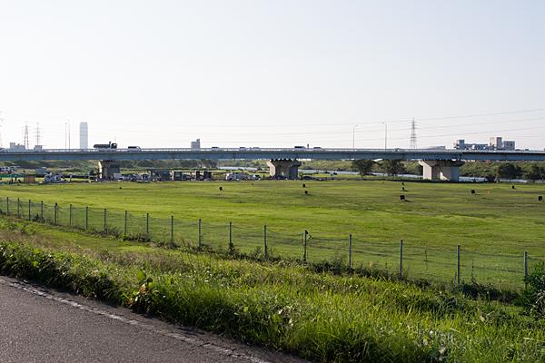 河川敷ゴルフ練習場