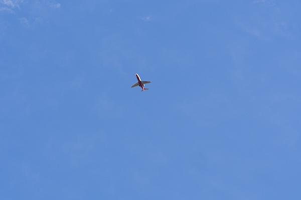 飛行機のいる空10