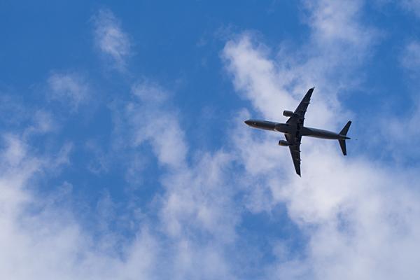 飛行機のいる空4
