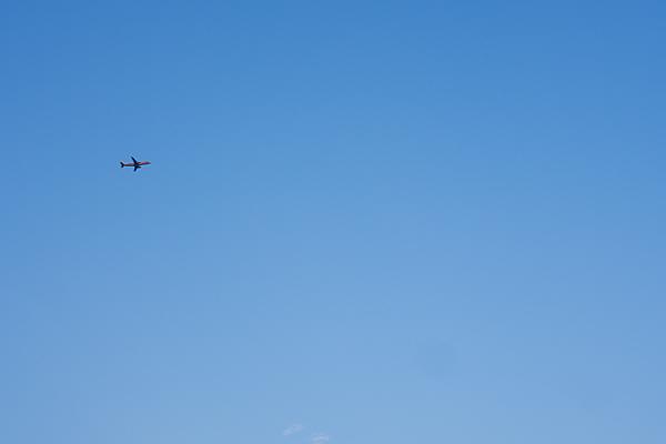 飛行機のいる空8