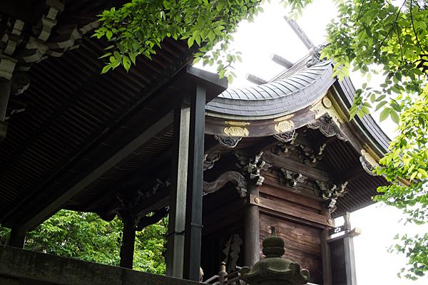 明神社本殿