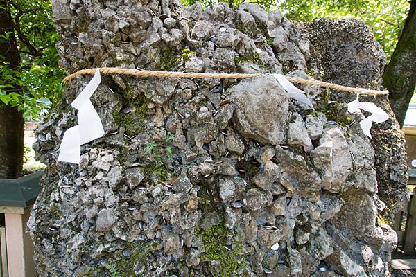 椿大神社さざれ石