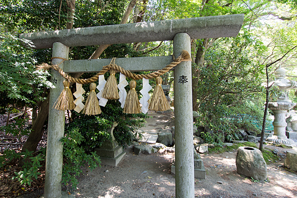 椿大神社龍神社