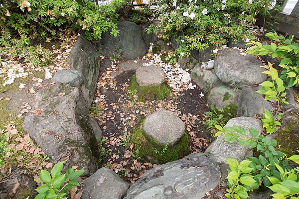 赤星神社何かの跡