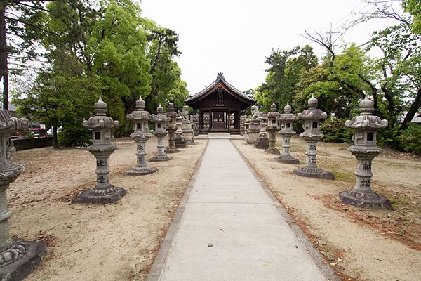 赤星神社参道