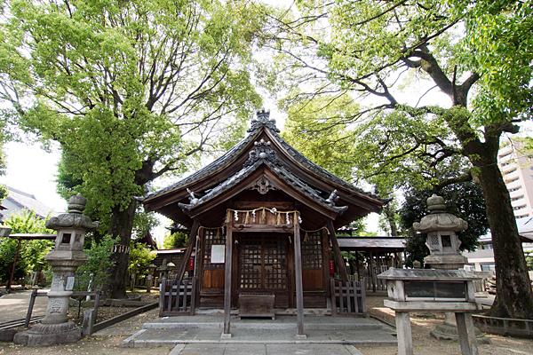松原八幡社拝殿