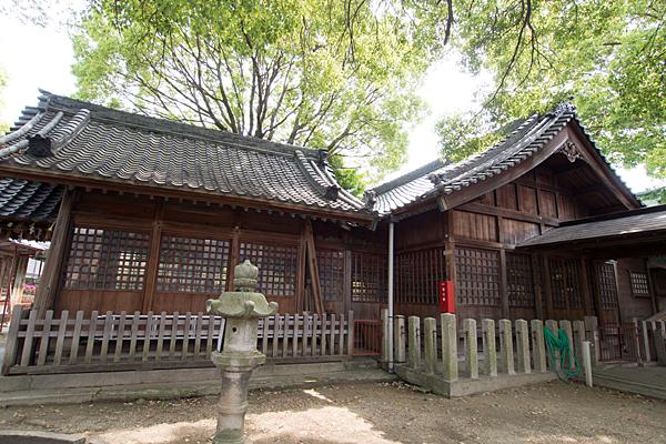 松原八幡社社殿