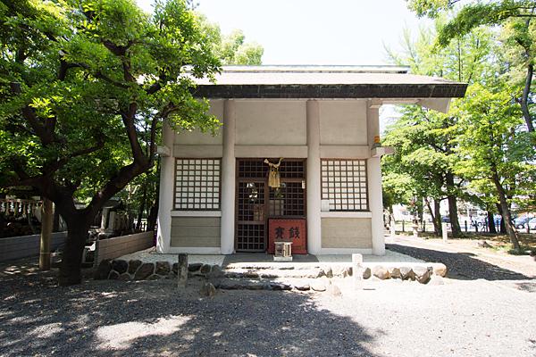 十一番八劔社拝殿