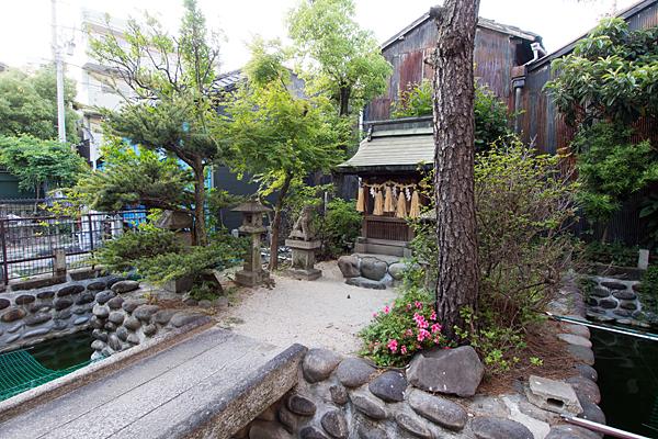 太閤厳島社全域