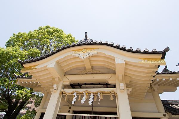 西古渡神社拝殿破風