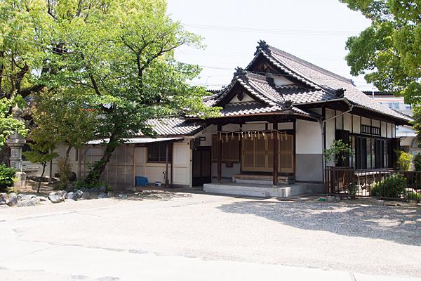 西古渡神社社務所