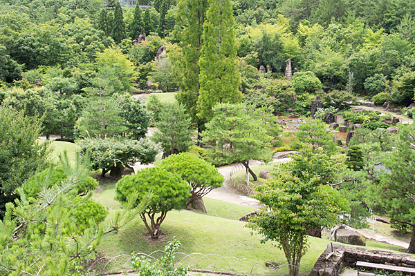 モリコロ日本庭園俯瞰