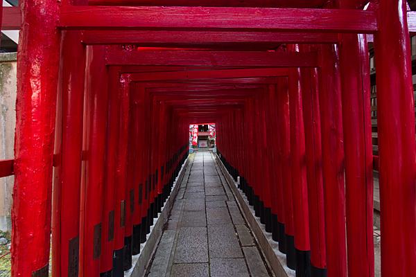冨士神社稲荷社鳥居