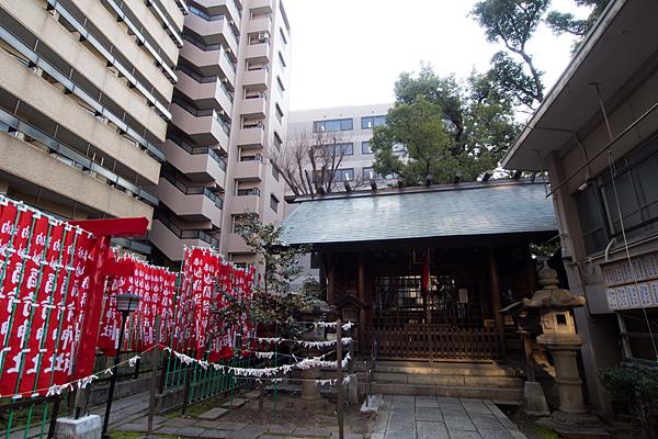 冨士神社全景