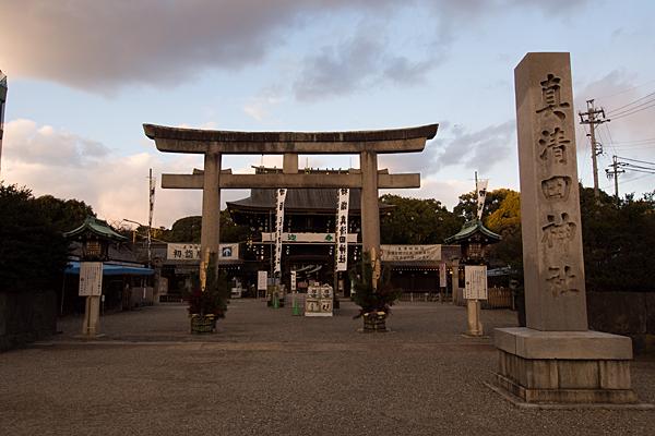 真清田神社正面