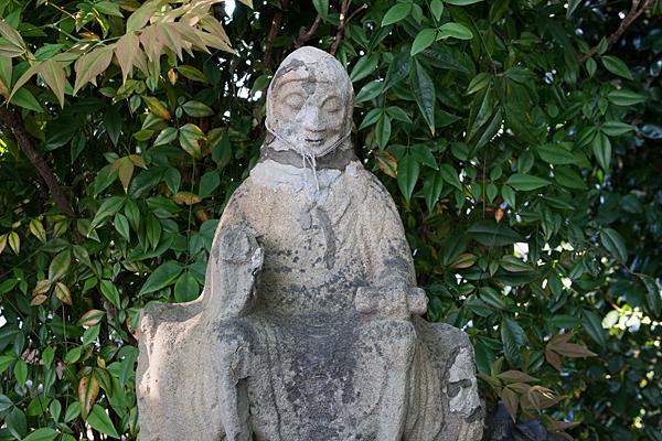 中切天神社石像