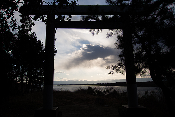 尾張猿田彦神社神宮遙拝