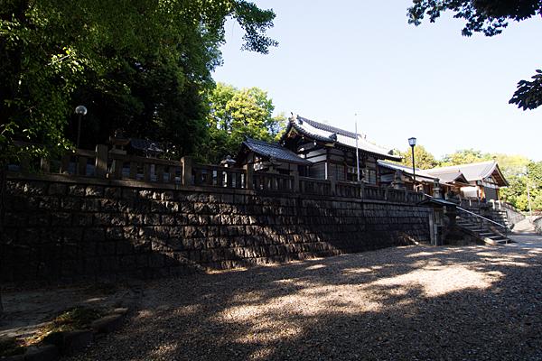 日吉神社社殿全景