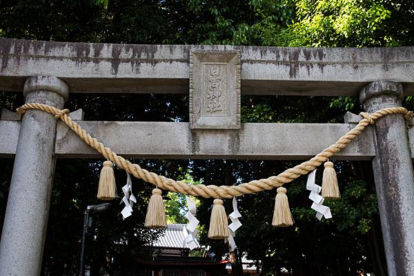 日吉神社一の鳥居