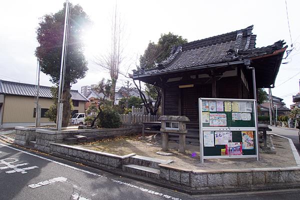 前田西町不明社薬師堂
