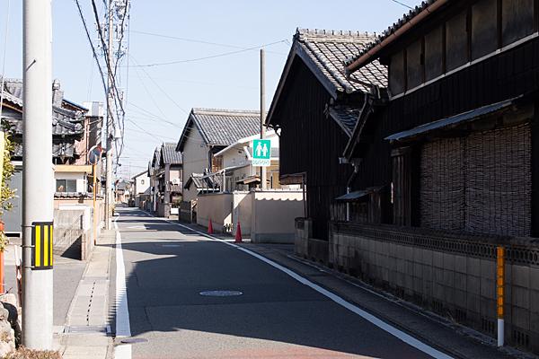朝日町旧東海道街並み