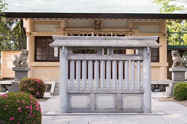 藤森神明社蕃塀