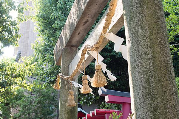 田代町山神社石鳥居