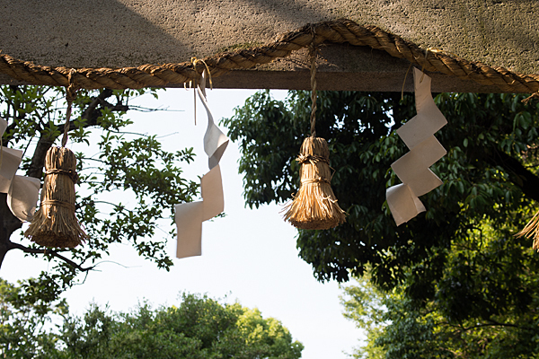 田代町山神社注連縄と紙垂