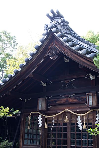 田代町山神社拝殿屋根
