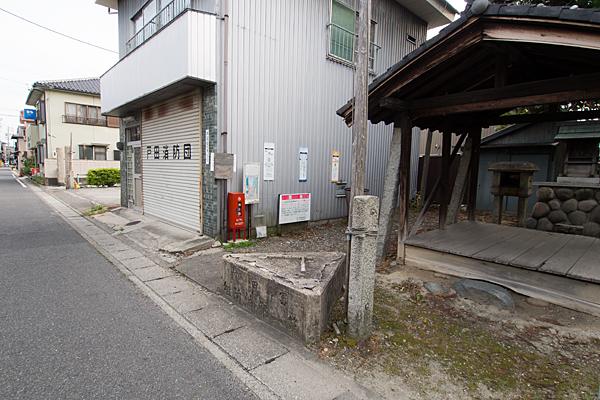 戸田3不明社戸田消防団と通り