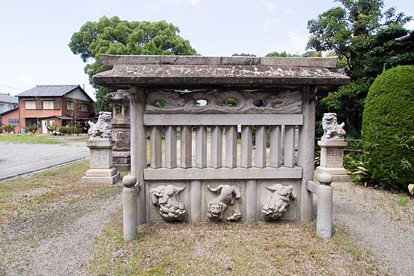 岩塚七所社蕃塀
