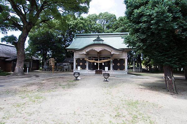 岩塚七所社拝殿