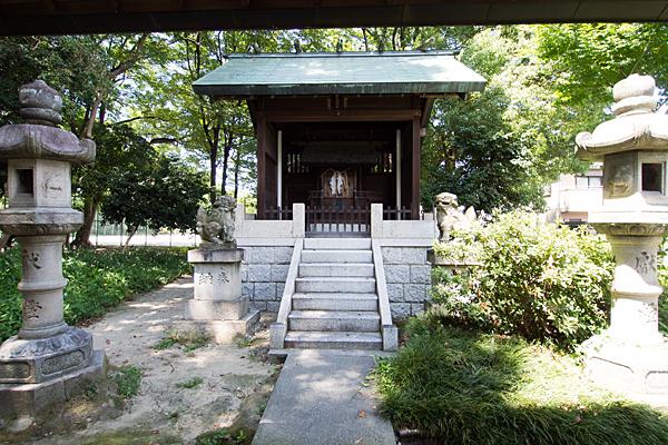 岩塚七所社御田神社の社
