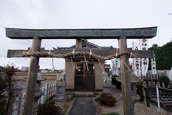 福島御嶽神社鳥居前