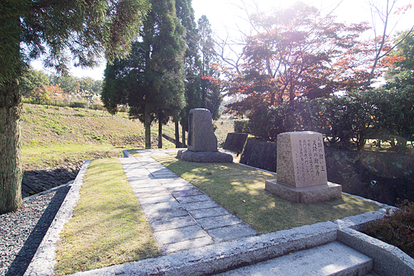 東谷奇玉宮教えの石碑