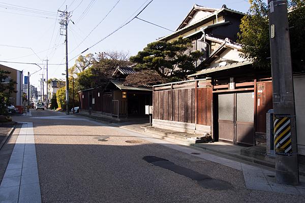 桑名旧東海道の面影