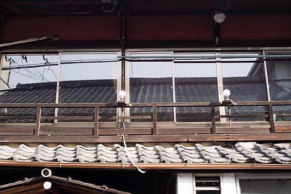 犬山城下町屋二階